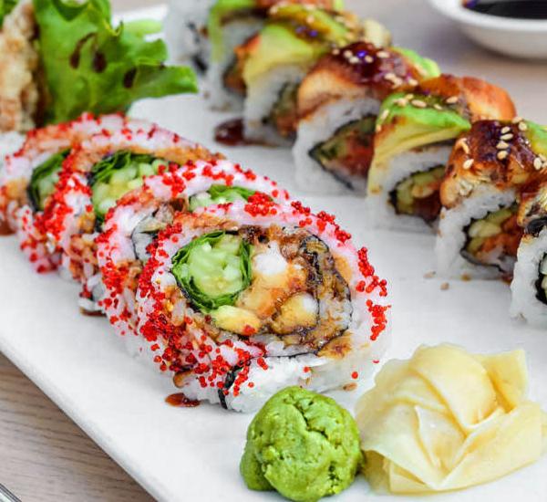 Луксозни суши ролки